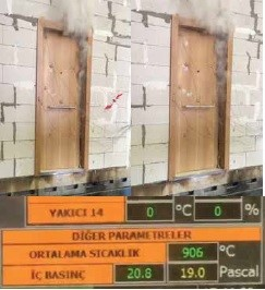 Fire Resistance Steel Door